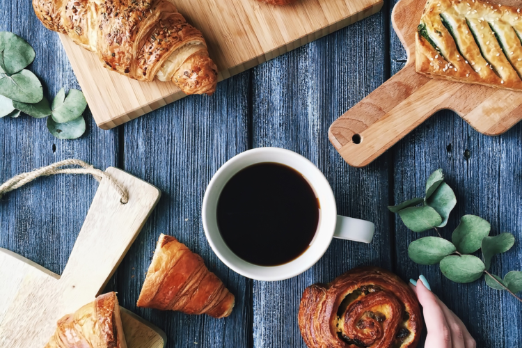017 coffee and croissant
